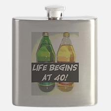 LIFE BEGINS AT 40! #3 Flask