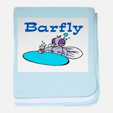 BARFLY baby blanket