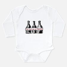 YOU HAD ME AT MERLOT Long Sleeve Infant Bodysuit