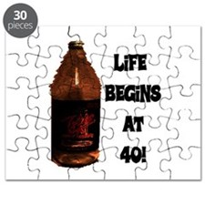 LIFE BEGINS AT 40 Puzzle