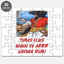 TIME FLIES WHEN YE ARR HAVING RUM Puzzle