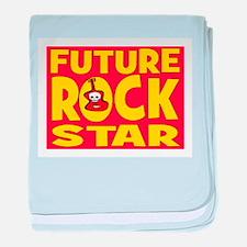 FUTURE ROCK STAR baby blanket