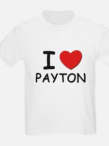 I love Payton Kids T-Shirt