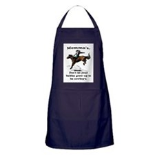 DON'T LET YOUR BABIES GROW UP.. Apron (dark)
