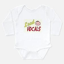 LEAD VOCALS Long Sleeve Infant Bodysuit