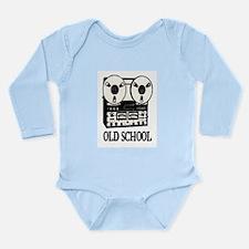 OLD SCHOOL (TAPE DECK) Long Sleeve Infant Bodysuit