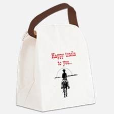 HAPPY TRAILS Canvas Lunch Bag