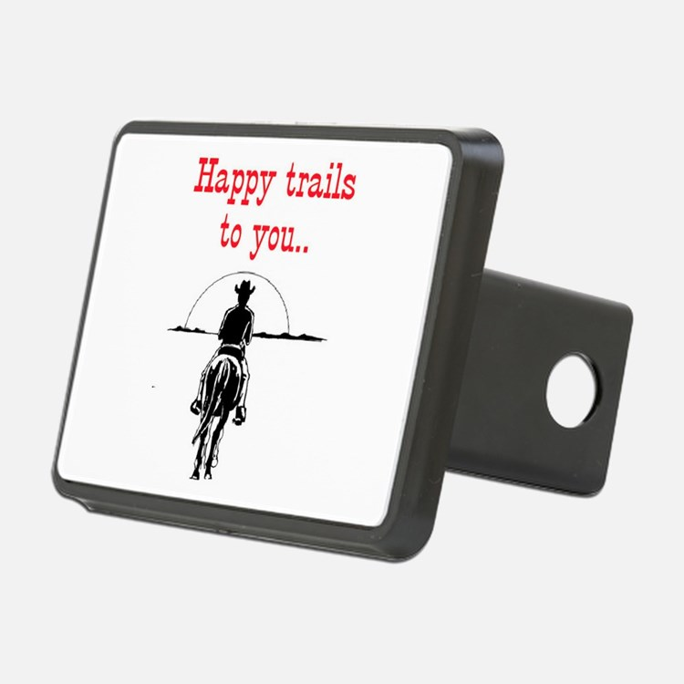 HAPPY TRAILS Hitch Cover