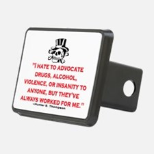 HUNTER S. THOMPSON QUOTE (ORIG) Hitch Cover