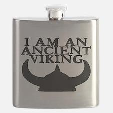 I AM AN ANCIENT VIKING Flask