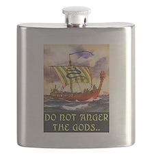 DO NOT ANGER THE GODS Flask