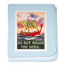 DO NOT ANGER THE GODS baby blanket