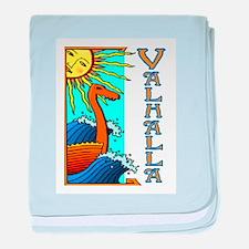 VALHALLA (Tall Ships) baby blanket