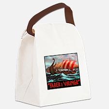 FARER I VIKINGR Canvas Lunch Bag