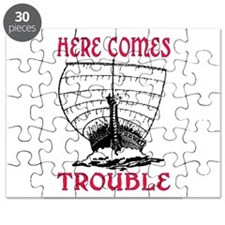 HERE COMES TROUBLE (VIKING) Puzzle