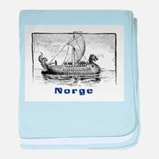 NORGE baby blanket