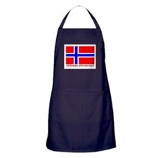 I'M NORWEGIAN, WHAT'S YOUR EXCUSE? Apron (dark)