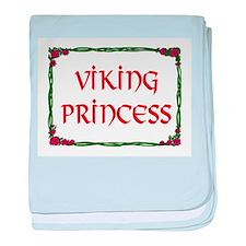 VIKING PRINCESS baby blanket