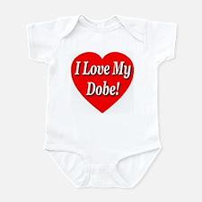 I Love My Dobe! Infant Bodysuit