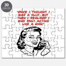 ACTING LIKE A MAN Puzzle