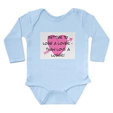 LOSE A LOVER Long Sleeve Infant Bodysuit