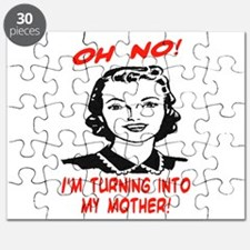 TURNING INTO MY MOTHER Puzzle