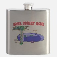 HOME SWEET HOME (BLUE) Flask
