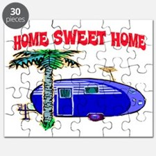 HOME SWEET HOME (BLUE) Puzzle