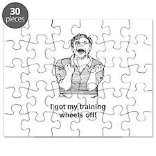 I GOT MY TRAINING WHEELS OFF Puzzle