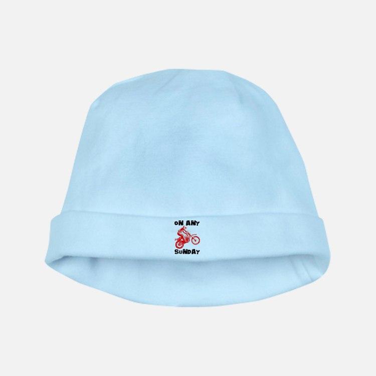 ON ANY SUNDAY baby hat