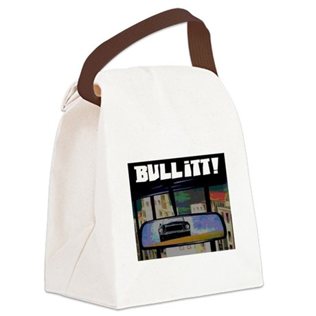 ULTIMATE CAR CHASE! Canvas Lunch Bag