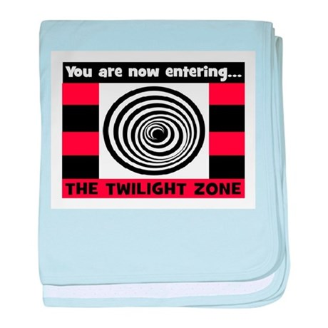 YOU ARE NOW ENTERING #2 baby blanket
