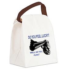 DO YOU FEEL LUCKY? Canvas Lunch Bag