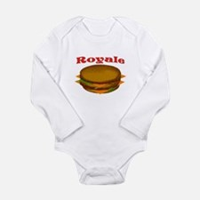 ROYALE Long Sleeve Infant Bodysuit