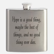 HOPE IS A GOOD THING Flask