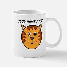 Custom Cartoon Cat Face Mug