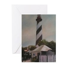 LIGHTHOUSE MEMORIES Greeting Cards (Pk of 10)