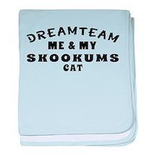 Skookums Cat Designs baby blanket