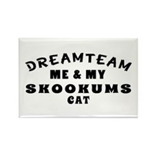 Skookums Cat Designs Rectangle Magnet