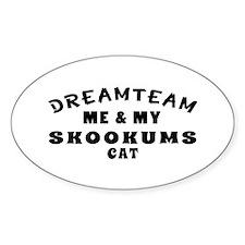 Skookums Cat Designs Decal
