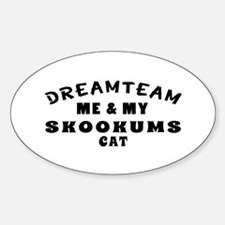 Skookums Cat Designs Decal