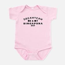 Singapura Cat Designs Infant Bodysuit