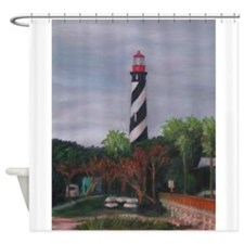 LIGHTHOUSE MORNING 12X16 Shower Curtain