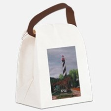 LIGHTHOUSE MORNING 12X16 Canvas Lunch Bag