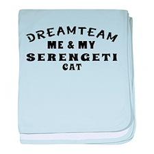 Serengeti Cat Designs baby blanket