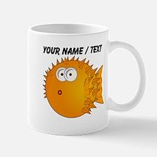 Custom Orange Blowfish Mug
