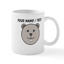 Custom Grey Beaver Mug