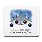 Bomb Diggity Christmas Mousepad