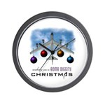 Bomb Diggity Christmas Wall Clock