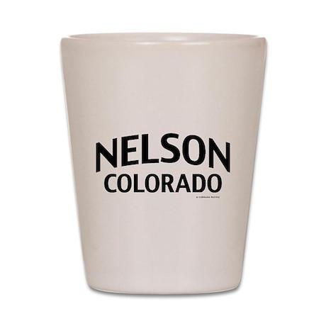 Nelson Colorado Shot Glass